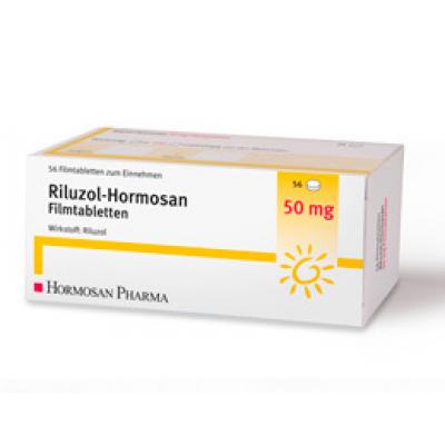 Рилутек (Рилузол) 50 мг, 56 таб.