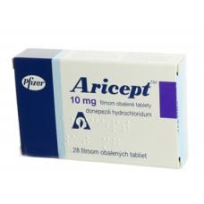 Арисепт 10 мг, 28шт