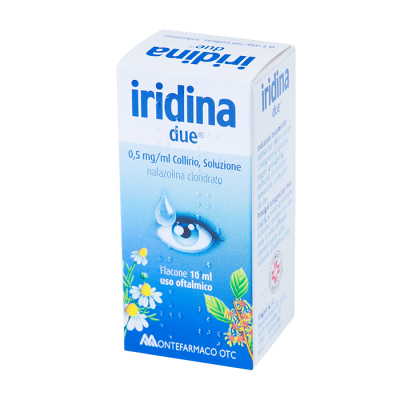 Иридина капли для глаз